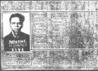 Bruce Bockstanz prisoner of war photo ID card