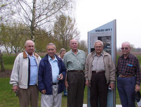 Former POWs at 2005 reunion in Barth, Germany
