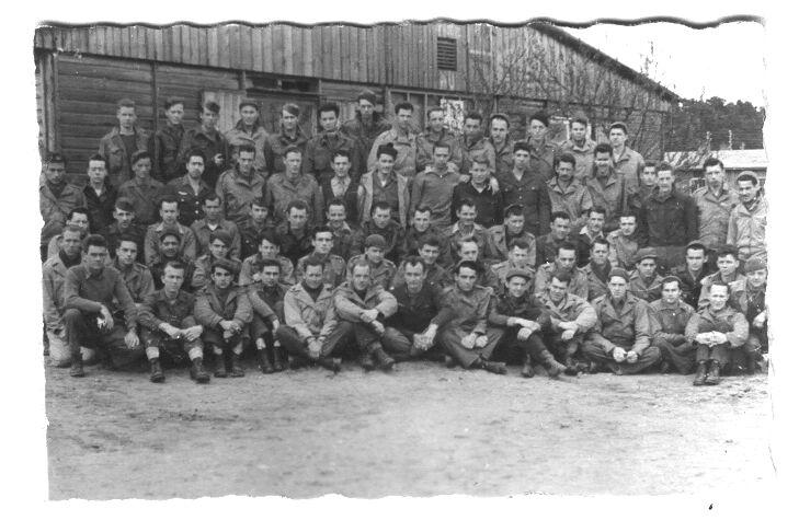 Group photo of prisoners of war at stalag luft i