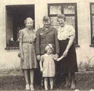 The Haslob family in WWII Germany-1943
