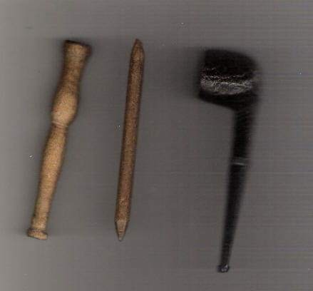 pencil and pipe from POW camp