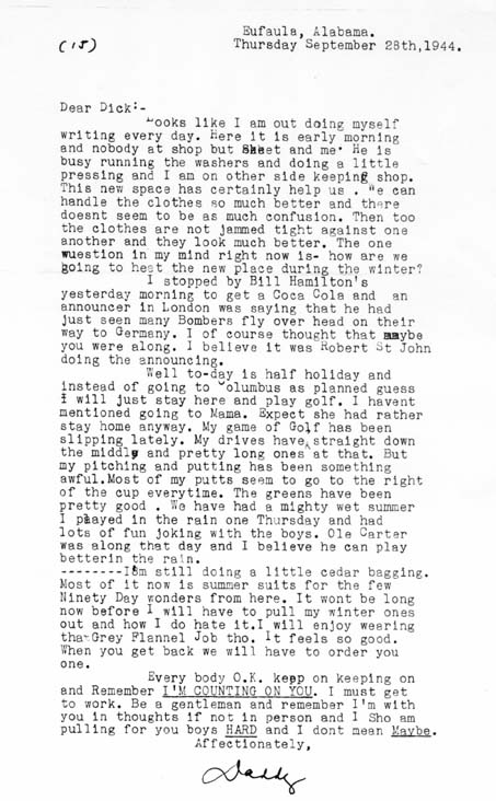 letter from home 92844 father to son in wwii england