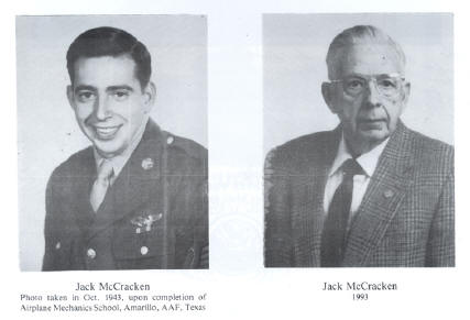 Jack McCracken - WWII days & current