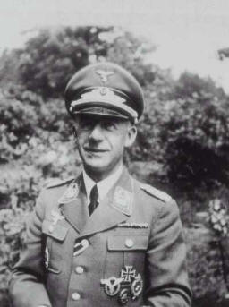 Oberst Willibald Scherer - Commandant of Stalag Luft I