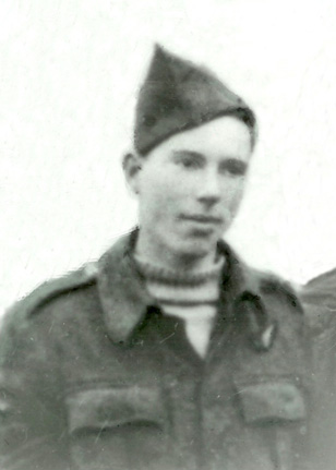 Sgt. Roy Kilminster of the Royal Air Force