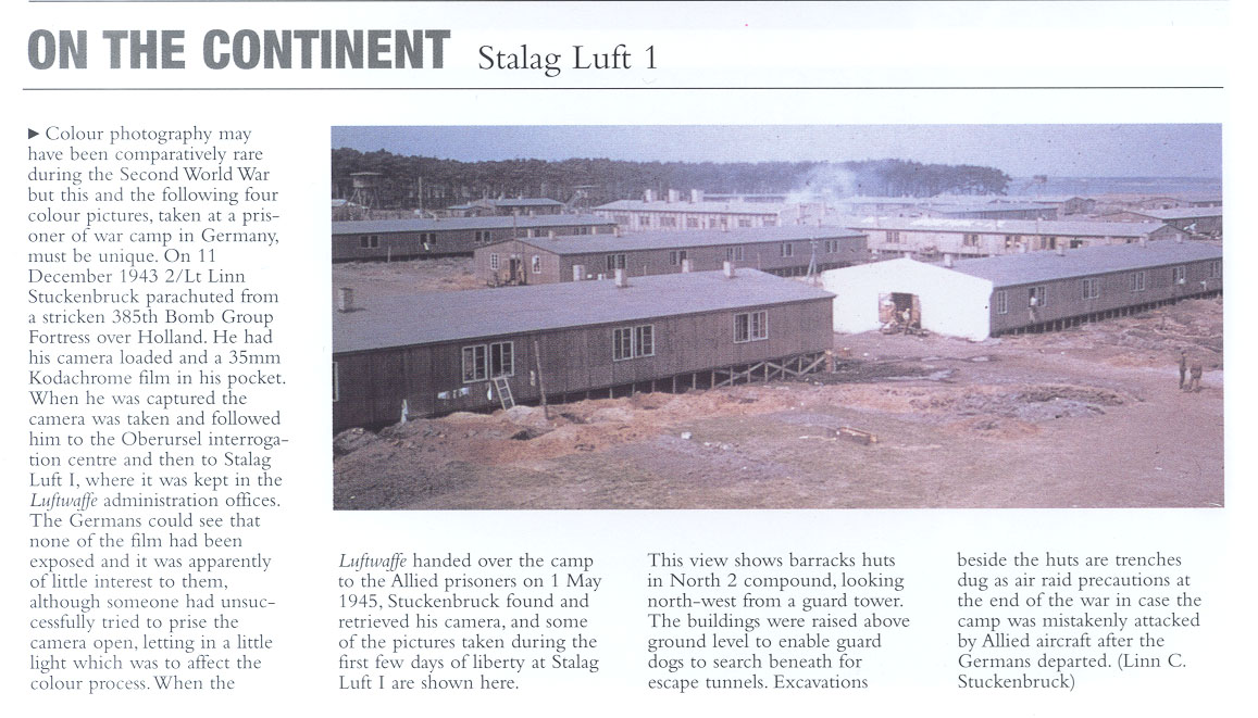 Stalag Luft I color photos page 1