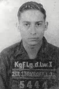 Irwin J. Stovroff Prisoner of war ID photo