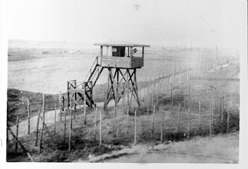 Guard Tower at Stalag Luft I - POW Camp - WW2