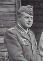 Major von Miller at Stalag Luft I