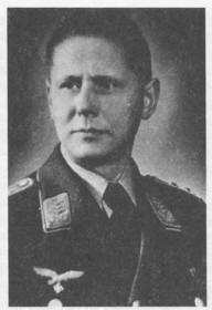 Major Waldschmidt - Bomber Crew Interrogator at Dulag Luft